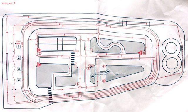 コヤマドライビングスクール横浜校のコース1図